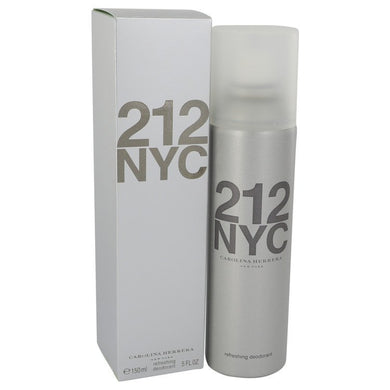 212 by Carolina Herrera Deodorant Spray (Can) 5 oz for Women