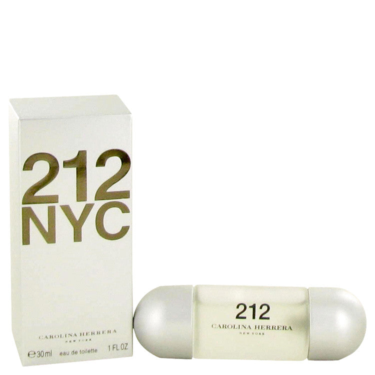 212 by Carolina Herrera Eau De Toilette Spray (New Packaging) 1 oz for Women