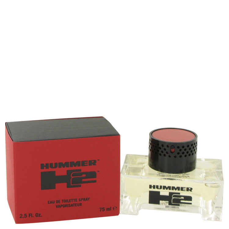Hummer H2 by Hummer Eau De Toilette Spray 2.5 oz for Men