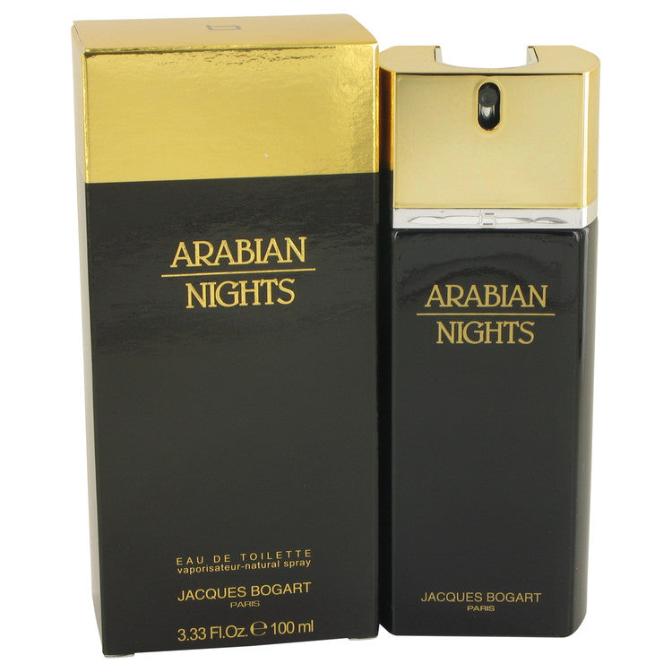 Arabian Nights by Jacques Bogart Eau De Toilette Spray 3.4 oz for Men