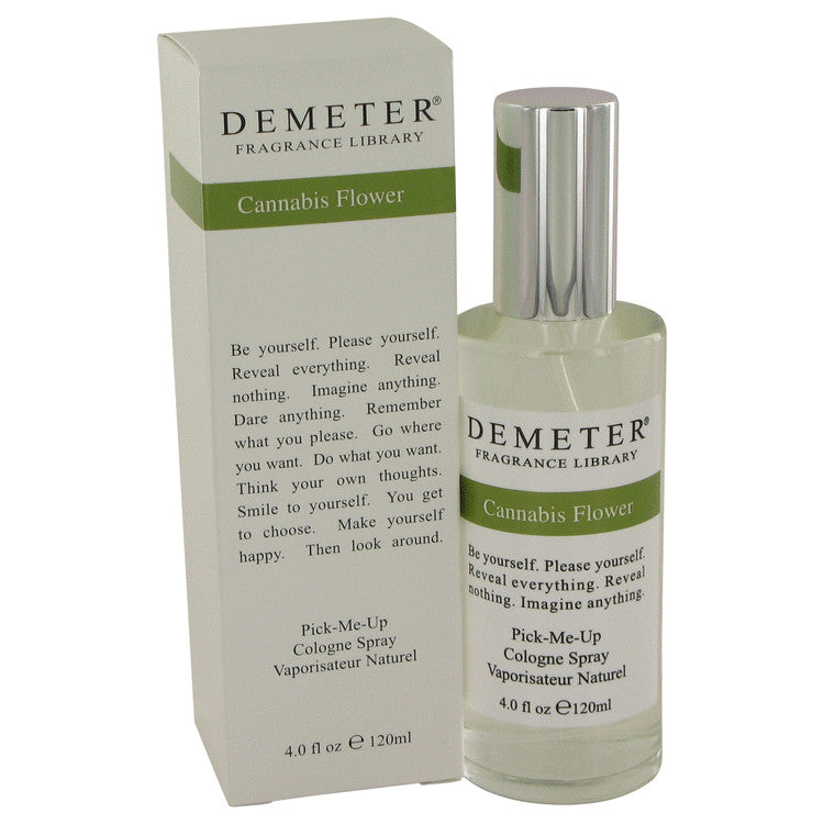 Demeter by Demeter Cannibis Flower Cologne Spray 4 oz for Women