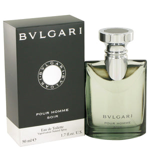 Bvlgari Pour Homme Soir by Bvlgari Eau De Toilette Spray 1.7 oz for Men