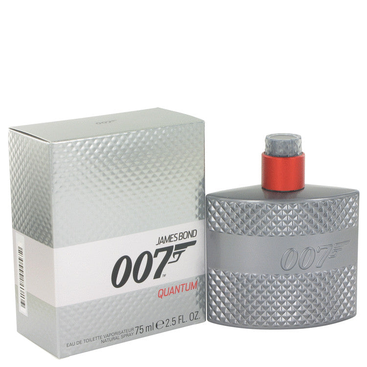 007 Quantum by James Bond Eau De Toilette Spray 2.5 oz for Men