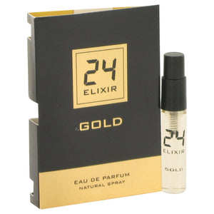 24 Gold Elixir by ScentStory Vial (sample) .10 oz for Men