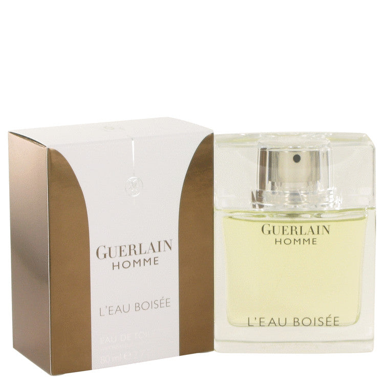 Guerlain Homme L'eau Boisee by Guerlain Eau De Toilette Spray 2.7 oz for Men