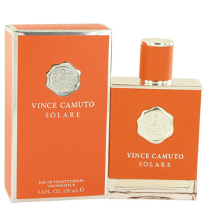 Vince Camuto Solare by Vince Camuto Eau De Toilette Spray 3.4 oz for Men