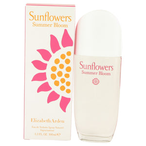 Sunflowers Summer Bloom by Elizabeth Arden Eau De Toilette Spray 3.3 oz for Women