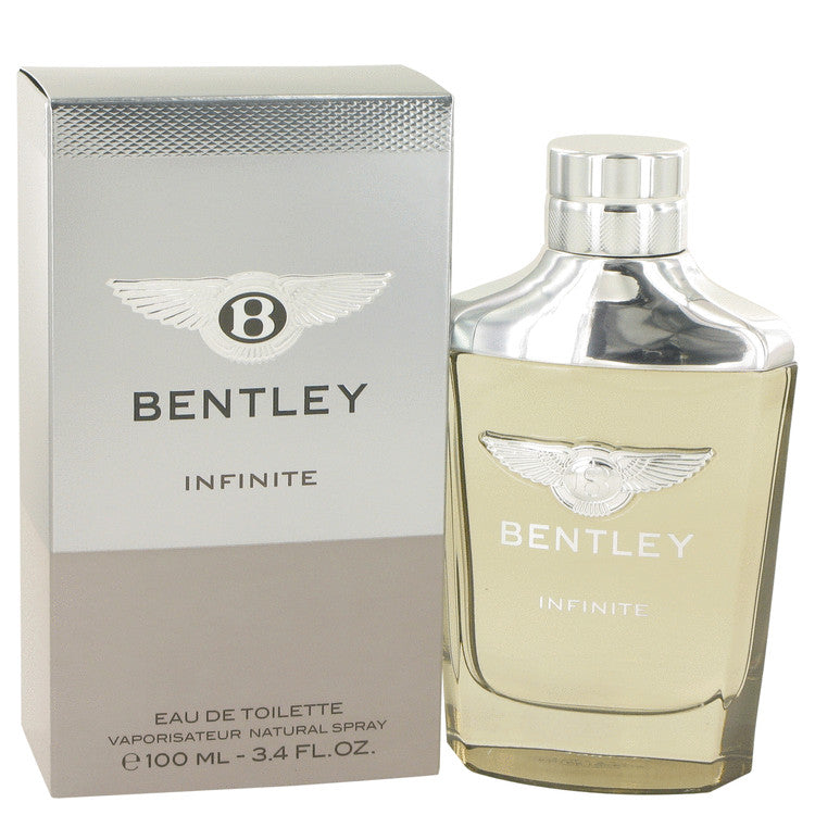 Bentley Infinite by Bentley Eau De Toilette Spray 3.4 oz for Men