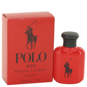 Polo Red by Ralph Lauren Eau De Toilette Spray .5 oz for Men