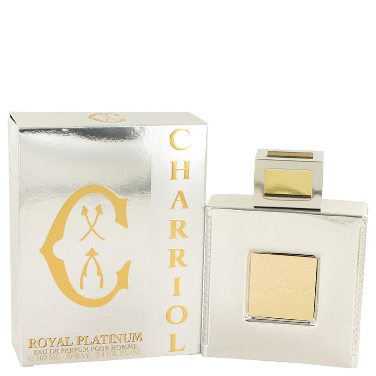 Charriol Royal Platinum by Charriol Eau De Parfum Spray 3.4 oz for Men