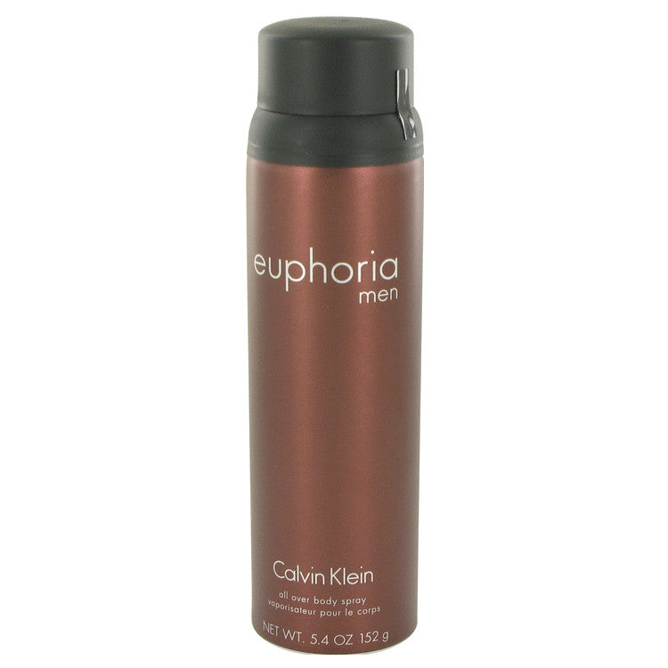 Euphoria by Calvin Klein Body Spray 5.4 oz for Men