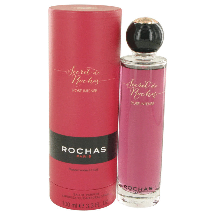 Secret De Rochas Rose Intense by Rochas Eau De Parfum Spray 3.3 oz for Women