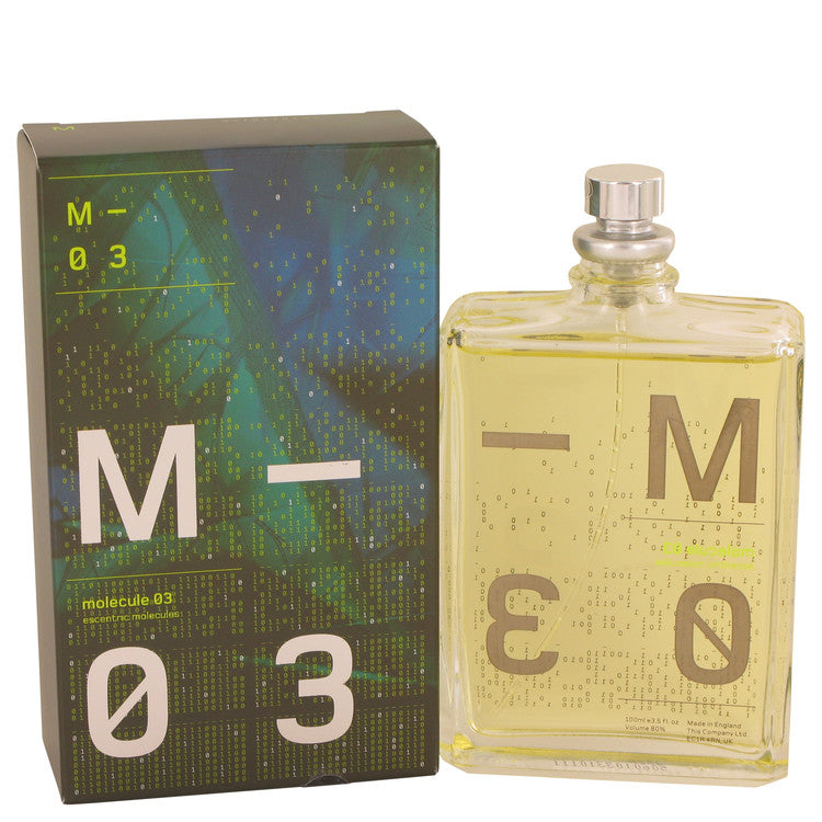 Molecule 03 by ESCENTRIC MOLECULES Eau De Toilette Spray 3.5 oz for Women