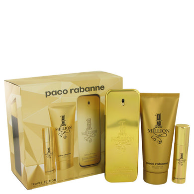 1 Million by Paco Rabanne Gift Set -- for Men