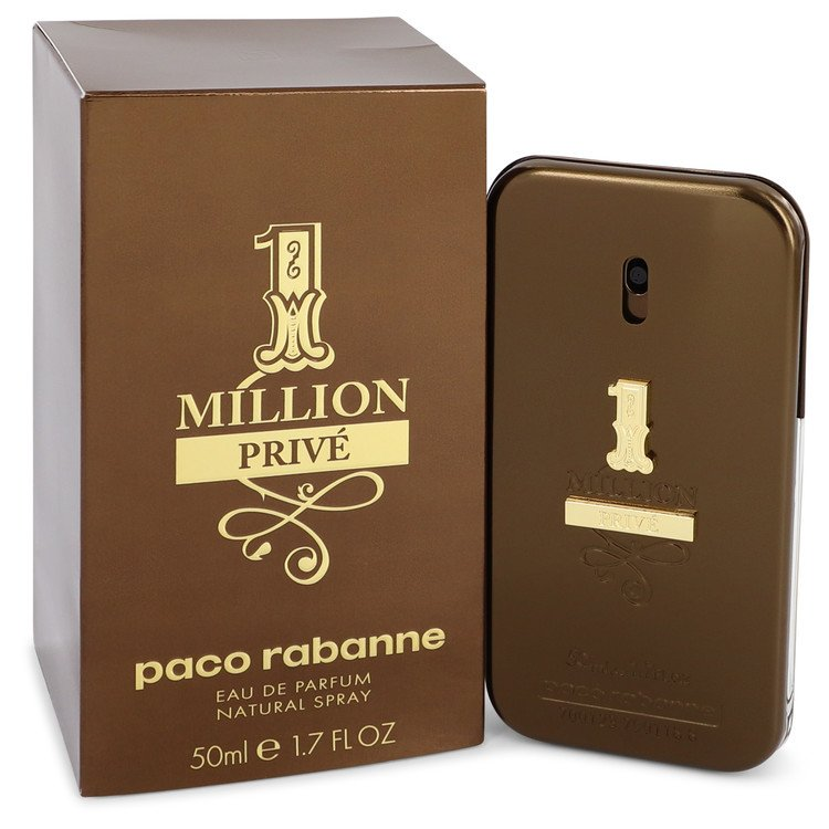 1 Million Prive by Paco Rabanne Eau De Parfum Spray 1.7 oz for Men
