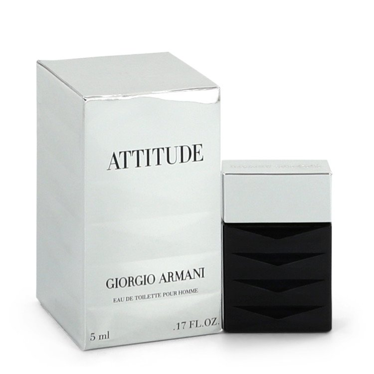 Attitude (Armani) by Giorgio Armani Mini EDT (unboxed) .17 oz for Men