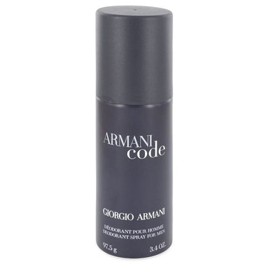 Armani Code by Giorgio Armani Deodorant Spray 3.4 oz for Men