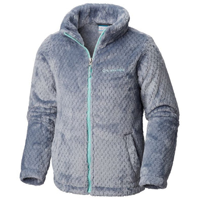 COLUMBIA FLUFFY FLEECE FULL ZIP JACKET