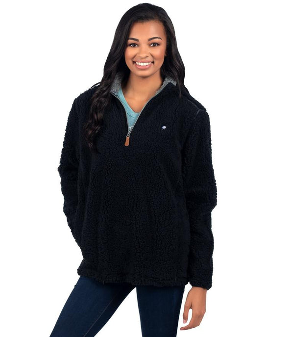 SOUTHERN SHIRT COMPANY SHERPA PULLOVER W/POCKETS