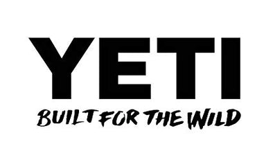 Yeti BUILT FOR THE WILD DECAL