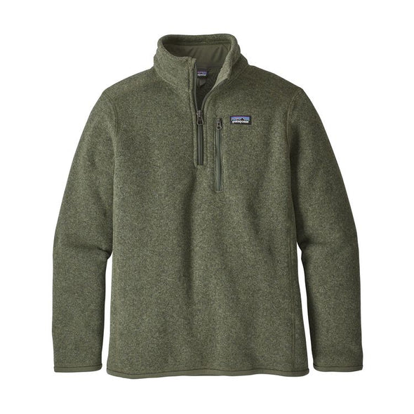 PATAGONIA BETTER SWEATER 1/4 ZIP PULLOVER
