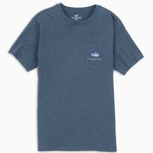 SOUTHERN TIDE HEATHER SKIPJACK FLY S/S TEE