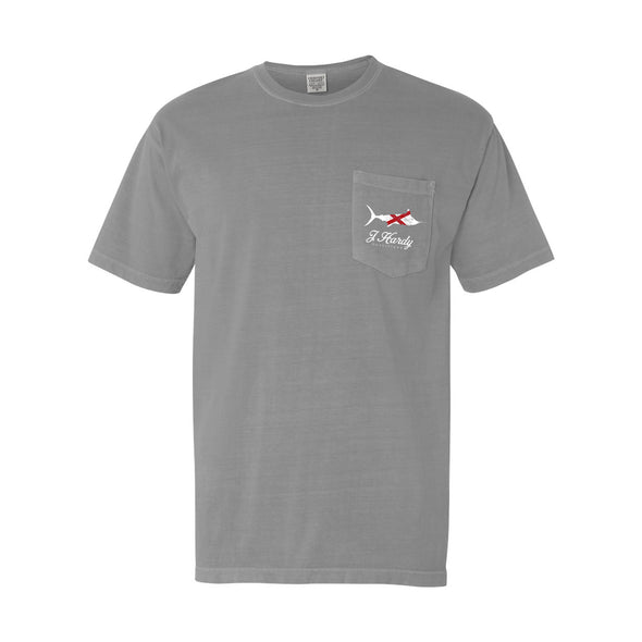 ALABAMA STATE FLAG MARLIN S/S TEE