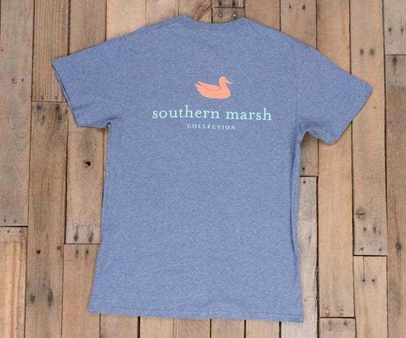 SOUTHERN MARSH AUTHENTIC TEE HEATHER S/S