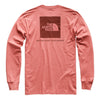 NORTH FACE RED BOX LONG SLEEVE TEE