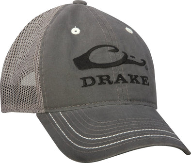 DRAKE WATERFOWL MESH BACK LOGO CAP
