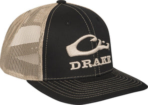 DRAKE WATERFOWL LOGO MESH CAP
