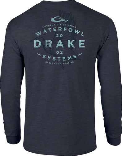DRAKE WATERFOWL FLYING DRAKE L/S TEE