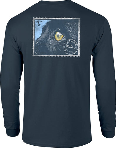 DRAKE WATERFOWL EYE ON THE PRIZE L/S TEE