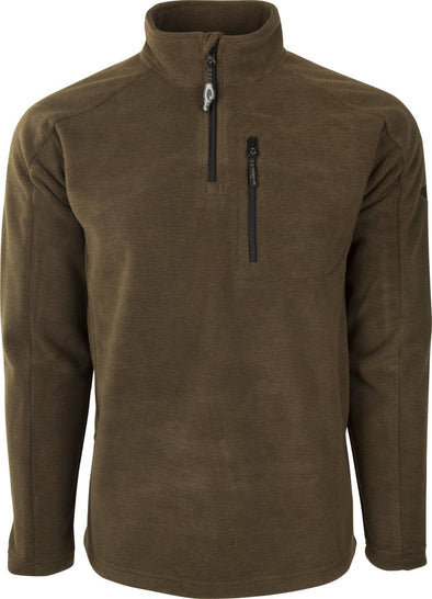 DRAKE WATERFOWL MST HEATHERED WINDPROOF 1/4 ZIP