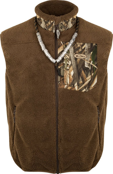 DRAKE WATERFOWL SHERPA FLEECE HYBRID