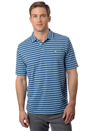 SOUTHERN TIDE HEATHERED CHANNEL MARKER S/S POLO