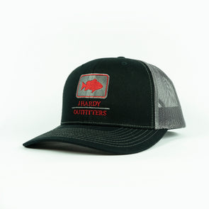 J HARDY EMBROIDERED SERIES RED SNAPPER HAT