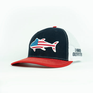 J HARDY STARS AND STRIPES TUNA HAT