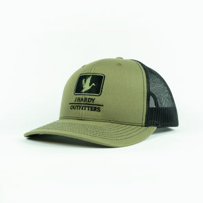 J HARDY EMBROIDERED SERIES DUCK HAT