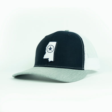 MISSISSIPPI STATE EMB PATCH HAT