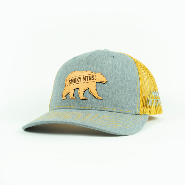 J HARDY SMOKY MTNS BEAR HAT