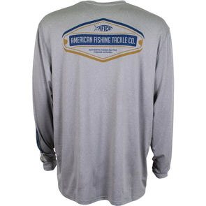AFTCO  BADGE PERFORMANCE L/S SHIRT