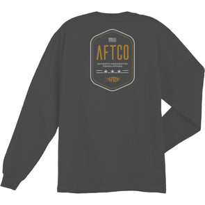 AFTCO  DOG TAG L/S TEE