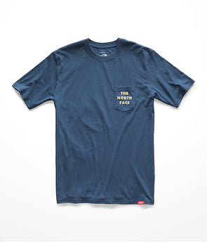 NORTH FACE BOTTLE SOURCE S/S POCKET TEE