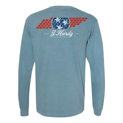 TENNESSEE STATE TRISTAR BEAR L/S TEE