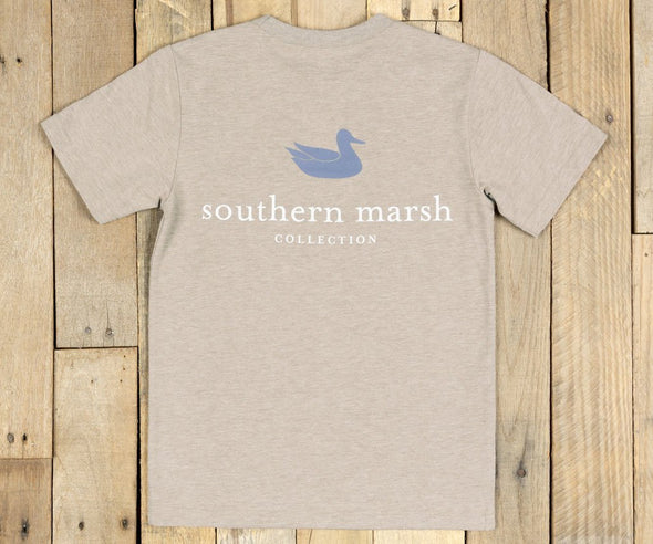SOUTHERN MARSH AUTHENTIC HEATHER S/S TEE YOUTH