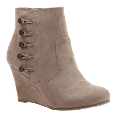 MADELINE SIDE BUTTON BOOTIE