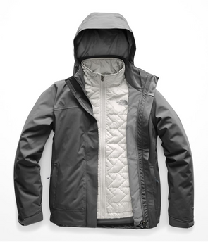NORTH FACE CARTO TRICLIMATE JACKET WOMENS