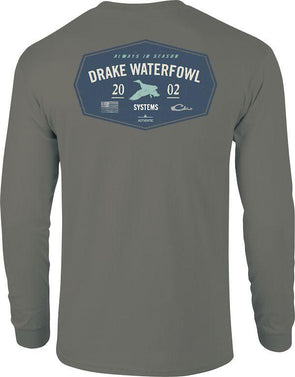 DRAKE WATERFOWL DRAKE 2002 T L/S TEE