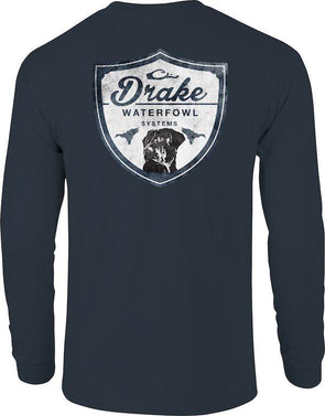 DRAKE WATERFOWL DRAKE LAB SHIELD T L/S